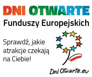 Zapraszamy na Dni Otwarte Funduszy Europejskich  w dniach od 11 do 13 maja 2018r.